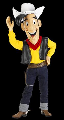 Ook Lucky Luke is aanwezig tijdens de kindervakantie